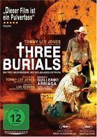 THREE BURIALS-DREI BEGRÄBNISSE Tommy Lee Jones, Melissa Leo  DVD NEUF