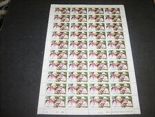 Nicaragua 1980 Albert Einstein Olympics Optd Used Full Complete Sheet #S370