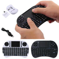 iPazzPort KP-810 -21 2.4GHz Mini I8 Wireless QWERTY Keyboard with Touchpad Mouse