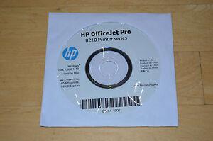 HP Officejet 6000 Pro K5400 8000 8210 8216 Series Setup CD ROM Driver Disc