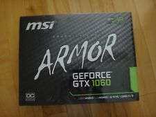 MSI Gaming Graphic Card - Nvidia GeForce GTX 1060 6GB Armor - NEW