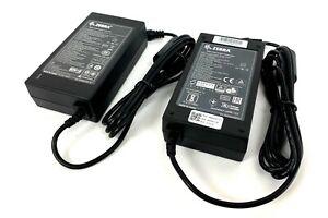 Lot 2x ZEBRA FSP050-DBCD1 AC/DC POWER SUPPLY ADAPTER 12V 4.16A P1076008-001