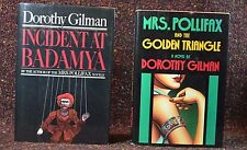 2 Dorothy Gilman Incident Badamya & Mrs Pollifax Golden Triangle w Author's note