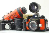 🔴FedEx【N Mint w/20mm ,35mm Lens ,O ring】 Nikon Nikonos V Film Camera From Japan