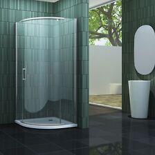SWALL 90 x 90 x 200cm Viertelkreis Duschkabine Duschtasse Dusche Duschabtrennung