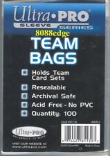 100 Team Resealable Bags - Ultra Pro
