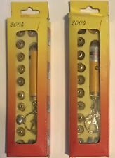 New ListingHi-Output Laser Pointer Keychain with New Batteries & Different Tips (Lot of 2)