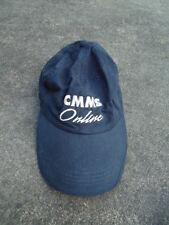 """""""CMMS Online"""" Black Baseball Cap Adjustable Back"""