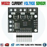 NA3221 Triple-Channel Shunt Current Voltage Monitor Sensor I2C SMBUS Compatible