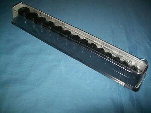 "NEW Snap-on™ 3/8"" drive 8 24 mm 6-pt SHallow Impact Socket Set 214IMFMYA Sealed"