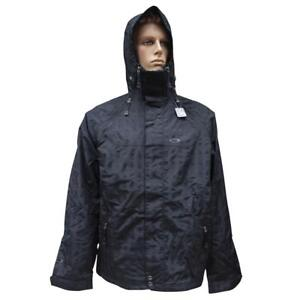 Oakley Rocco Lite Snow Jacket Mens Size M Medium Black Snowboarding Ski Mountain