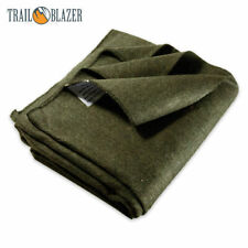 SE BI64846GN 64 X 84 Warm 4-lb. Blanket With 80 Wool Green