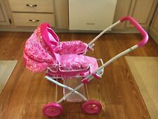 Little Girls Pink Baby Doll Stroller