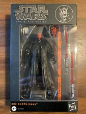 Star Wars The Black Series #02 6in. Darth Maul Action Figure 2013
