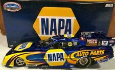 RON CAPPS 2011 NAPA AUTO PARTS 1/24 AUTO WORLD DIECAST CHARGER FUNNY CAR 1/1,500