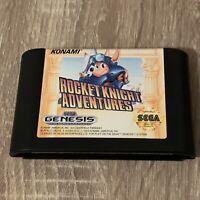 SHIPS SAME DAY Rocket Knight Adventures Sega Genesis Cartridge Only Rare Tested