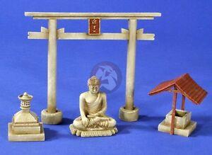 Verlinden 1/35 Japanese Shinto Shrine Elements Pacific War WWII [Diorama] 2675