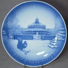 Bing & Grondahl 2021 Christmas Plate B&G – Botanical Garden New in Box!