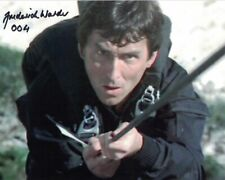 FREDERICK WARDER - 004 in The Living Daylights hand signed 10 x 8 photo
