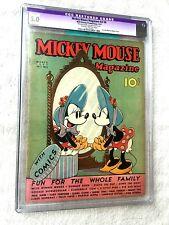 Mickey Mouse Magazine vol 2 #6 CGC 5.0 C-1 Walt Disney Productions March 1937