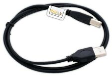 3ft USB 2.0 Printer Cable A to B Black for: HP, CANON, DELL, BROTHER