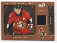Dany Heatley 09-10 Upper Deck Artifacts Treasured Swatches Game Jersey Retail