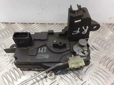 2007 VAUXHALL ASTRA H Mk5 Right Drivers O/S Front Door Lock Assembly 13220368