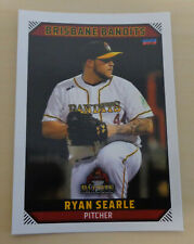 Ryan Searle 2018/19 Australian Baseball League (Brisbane Bandits) Unipol Bologna