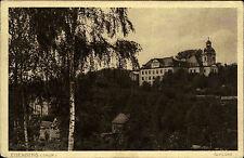 Eisenberg Thüringen Schloss Feldpostkarte 1917 als Feldpost 1. Weltkrieg gelauf.