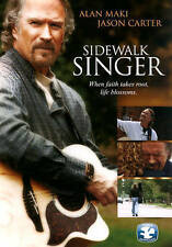 Sidewalk Singer (DVD, 2014)New - Christian Movie - Alan Maki, Jason Carter