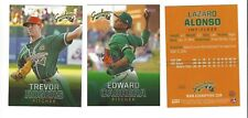 2018 GREENSBORO GRASSHOPPERS COMPLETE TEAM SET MINOR LGE - LOW A MIAMI MARLINS