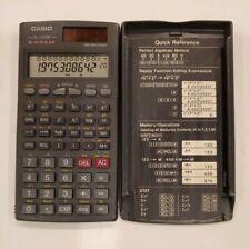 Casio fx 300W S-V.P.A.M 2 Way Power Scientific Calculator Case Cover Quick Ref