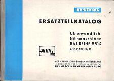WITTENBERGE, Katalog 1971, VEB Nähmaschinenwerke Altenburg TEXTIMA ALTIN 8514