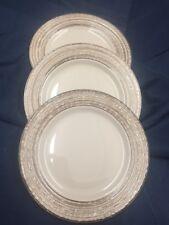 Set Of 3 Thomson Pottery BIRCH Salad Plates 7424137 Brown