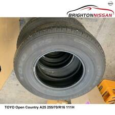 255/70 R16 111H TOYO A25 Open Country SUV 4x4 (4WD) Tyre RRP $264