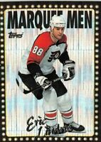 1995-96 Topps Marquee Men Power Boosters #1 Eric Lindros 2X PHILADELPHIA FLYERS