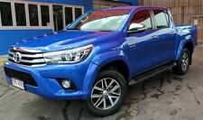 No Drill Flares Toyota Hilux 10/2015+ Wide Body - Painted Full Set