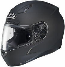 HJC CL-17 PLUS FULL-FACE MOTORCYCLE HELMET MATTE BLACK XXXXL 4XL 0851-0135-10