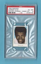 Cassius Clay Muhammad Ali 1962 Swedish Rekord Boxing Card PSA 6 EX-MT