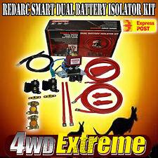 REDARC SBI12KIT COMPLETE DUAL BATTERY SYSTEM KIT 100AMP 12 VOLT SBI12 4WD 4X4