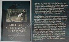 MILITARY CHAPLAINCY IN ESTONIA by Tõnis Nõmmik, rare book 2006