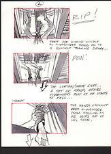 SHE'S OUT OF CONTROL 1989 ORIGINAL STORYBOARD ART ALTERNATES CARL ALDANA SC#2alt