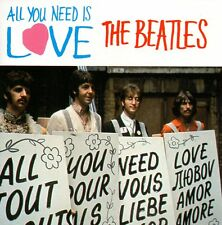 ★☆★ CD Single The BEATLES All you need is love 2-Track CARD SLEEVE  US ★☆★