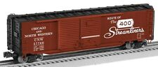 6-29344 Lionel- Chicago & North Western Double Door Boxcar #57766 Rte of the 400