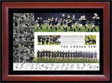 2004 New Zealand All Blacks Hand Signed & Framed The Chosen Few Print Coa