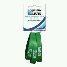 Rugby World Cup 2015 wristbands - set of 3 - Green