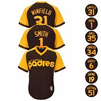 San Diego Padres MLB 1978 Cooperstown Brown Cool Base Jersey Collection - Men's