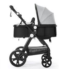 Newborn Carriage Infant Reversible Bassinet Toddler Seat Single Baby Stroller