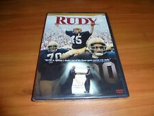 Rudy (DVD, 2000, Widescreen Special Edition) Sean Astin NEW Notre Dame