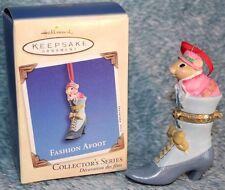 Hallmark Keepsake Christmas Ornament collector Series 'Fashion Afoot'